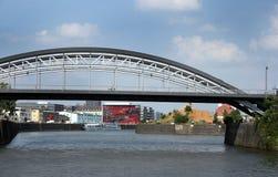 The Port of Frankfurt am Main Stock Image