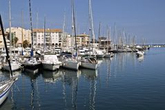 Port of Frejus Royalty Free Stock Image
