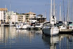 Port of Frejus Royalty Free Stock Images
