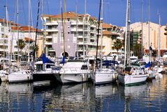 Port of Frejus Royalty Free Stock Image