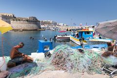 Port of Galipoli stock images