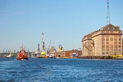 Port in Gdansk Stock Images