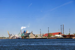 Port of Gdansk Stock Image