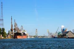 Port of Gdansk Stock Photos