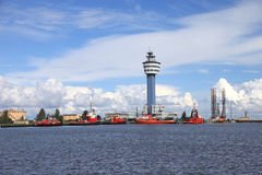 Port in Gdansk Stock Photography