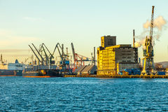 Port of Gdansk Royalty Free Stock Photography