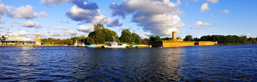 Port of Gdansk Royalty Free Stock Photo