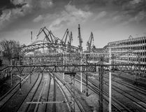 Port in Gdansk. Stock Photography