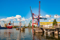 Port of Gdansk Stock Photos