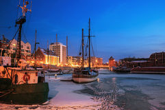 Port of Gdansk Royalty Free Stock Images