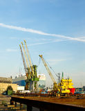 Port of Gdynia Royalty Free Stock Photography