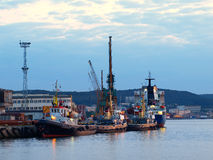 Port of Gdynia Royalty Free Stock Photo