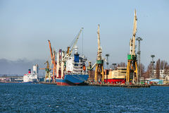 Port of Gdynia Stock Photos
