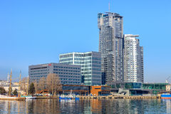 Port of Gdynia Stock Photography