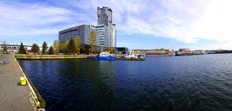 Port of Gdynia Royalty Free Stock Image