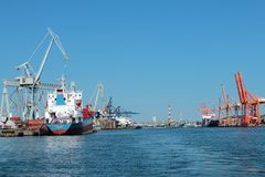 Port of Gdynia, Poland Stock Images