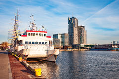 Port of Gdynia Stock Image