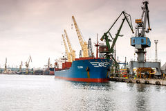 Port of Gdynia Royalty Free Stock Images