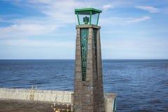 Port Gdynia wejście Fotografia Royalty Free