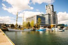 Port of Gdynia Stock Photos