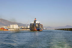 Port of Genoa, Italy Royalty Free Stock Images