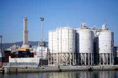 Port of Genoa, Italy Stock Photos
