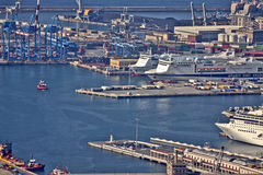 Port of Genoa, Italy Royalty Free Stock Photography