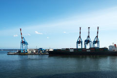 Port of Genoa Stock Photography