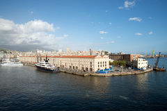 Port of Genoa Royalty Free Stock Photography