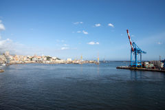 Port of Genoa Royalty Free Stock Photo