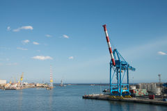 Port of Genoa Stock Photos