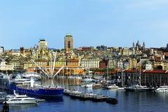 The Port of Genoa Stock Photo
