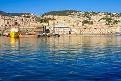 Port of Genoa Royalty Free Stock Photography