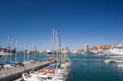 Port of Genova royalty free stock image