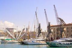 Port of genova Stock Photography