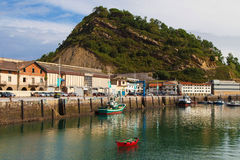 Port of Getaria Stock Photo