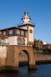 Port of Getxo Royalty Free Stock Photography