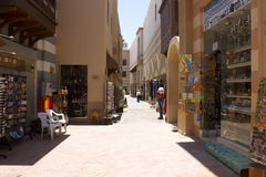 Port Ghalib Marina street Royalty Free Stock Image