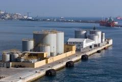 Port in Gibraltar Royalty Free Stock Photo