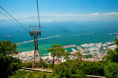 Port of Gibraltar Royalty Free Stock Images