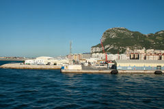 Port of Gibraltar Stock Image