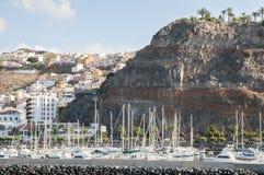 Port Gomera Stock Images
