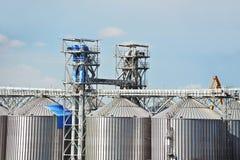 Port grain dryer Stock Images