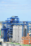 Port grain dryer Stock Image