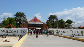 Port of Grand Turk Royalty Free Stock Image