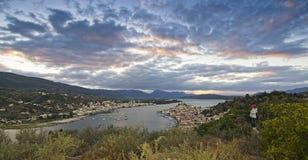 Port  on Greece Island Royalty Free Stock Photo