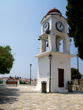 Port on the Greek island of Skiathos royalty free stock photos