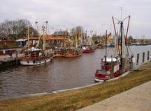 Port of Greetsiel. Greetsiel, Germany 2013 Royalty Free Stock Photo