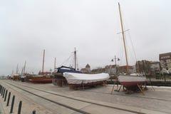 Port Greifswald Royalty Free Stock Photo
