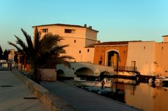 Port Grimaud stock photo